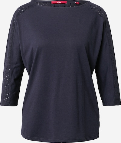 s.Oliver Shirt in navy, Produktansicht