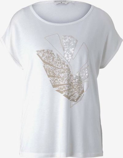 Tricou TOM TAILOR pe auriu / alb, Vizualizare produs