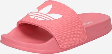 rožinė ADIDAS ORIGINALS Sandalai / maudymosi batai