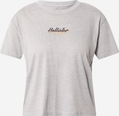 HOLLISTER Shirt in gelb / grau / pflaume, Produktansicht