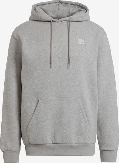 ADIDAS ORIGINALS Sweatshirt in mottled grey / White, Item view