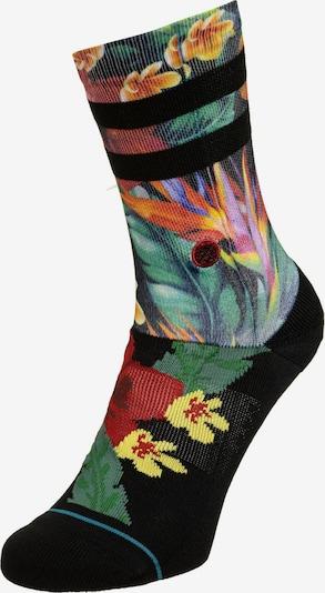 Stance Calcetines deportivos en amarillo / verde hierba / lila / negro, Vista del producto