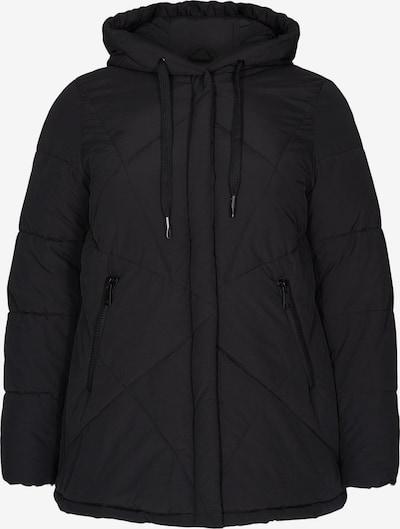 Zizzi Winter Jacket 'Mharbour' in Black, Item view