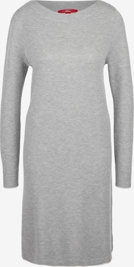 s.Oliver Kleid in graumeliert, Produktansicht