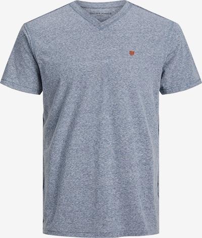 JACK & JONES T-Shirt en bleu chiné, Vue avec produit