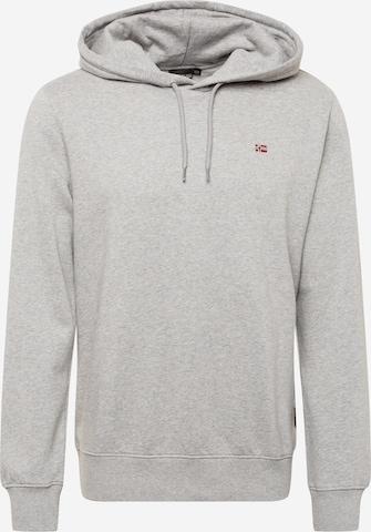 NAPAPIJRISweater majica 'BALIS' - siva boja