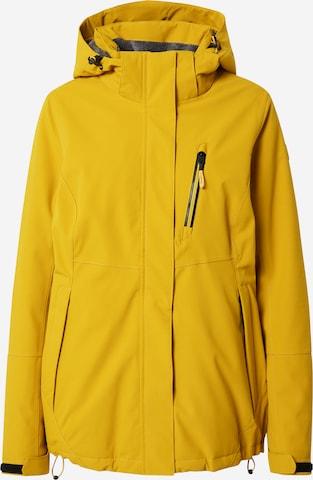 KILLTEC Outdoor Jacket in Yellow