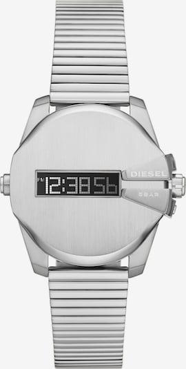 DIESEL Digitaluhr in silber, Produktansicht