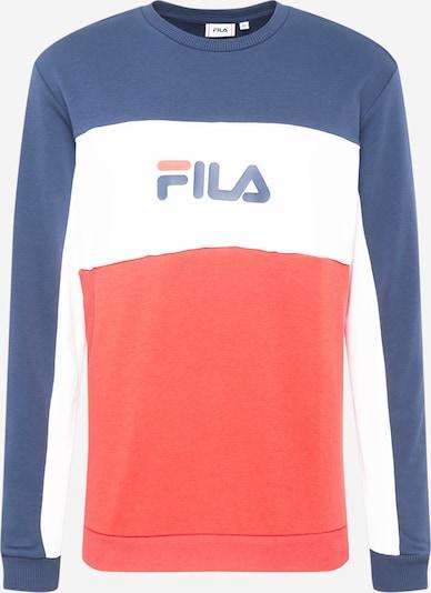 FILA Sweatshirt 'AQIL' in blau / rot / weiß, Produktansicht