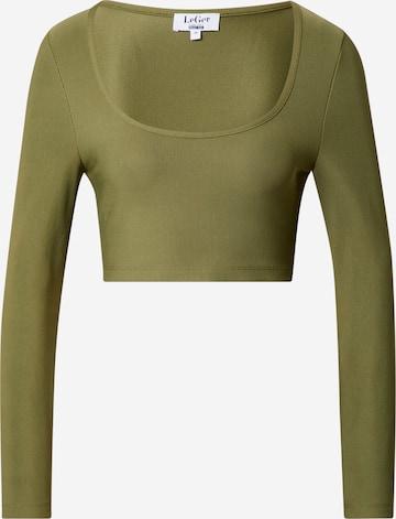 Maglietta 'Suzi' di LeGer by Lena Gercke in verde