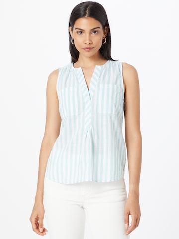 Q/S by s.Oliver Blouse in Blue