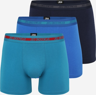 JBS OF DENMARK Calzoncillo boxer en navy / turquesa / azul real / gris / rojo, Vista del producto