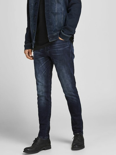 JACK & JONES Jeans 'FRED' in blue denim, Modelansicht