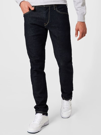 Pepe Jeans Jeans 'STANLEY' in blue denim / hellblau, Modelansicht