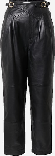 Pantaloni cutați Gestuz pe negru, Vizualizare produs
