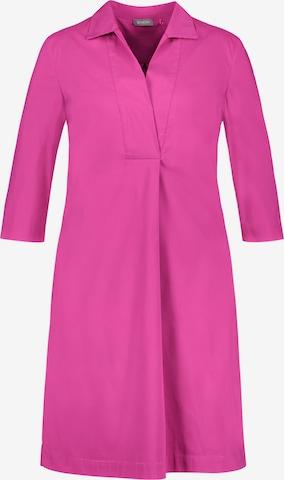 SAMOON Shirt Dress in Pink