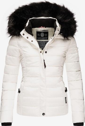 NAVAHOO Winterjas 'Miamor' in de kleur Zwart / Natuurwit, Productweergave