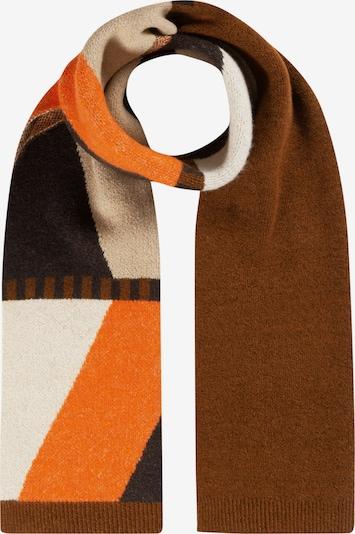 CODELLO Scarf in Cream / Brown / Orange, Item view