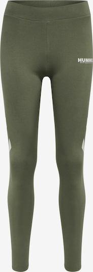 Hummel Leggings in dunkelgrün, Produktansicht