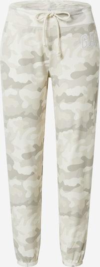 GAP Панталон в бежово / Каки / пастелно зелено, Преглед на продукта