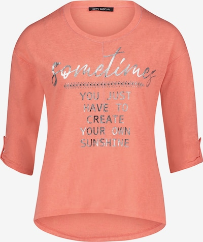 Betty Barclay Shirt in lachs / silber, Produktansicht
