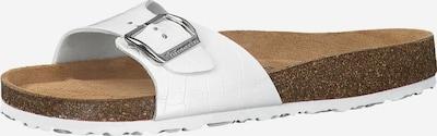 TAMARIS Pantolette in weiß, Produktansicht
