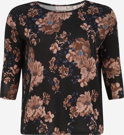 ONLY Carmakoma Camiseta 'ALBA' en azul claro / marrón / negro, Vista del producto
