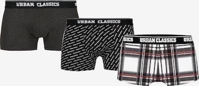 Urban Classics Boxershorts in rot / schwarz / weiß, Produktansicht