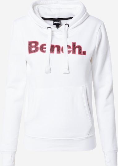 BENCH Μπλούζα φούτερ 'Anise' σε ροζ / μαύρο / λευκό, Άποψη προϊόντος