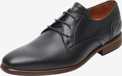 Van Lier Chaussure à lacets ' Erasmo ' en noir, Vue avec produit