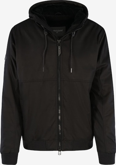 mazine Winterjas ' Glann ' in de kleur Zwart, Productweergave