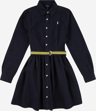 POLO RALPH LAUREN Kleid in navy / gelb, Produktansicht