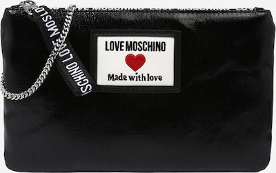 Love Moschino Tasche in hellrot / schwarz / weiß, Produktansicht
