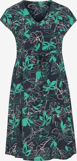 Promiss Kleid in marine / grün / weiß, Produktansicht