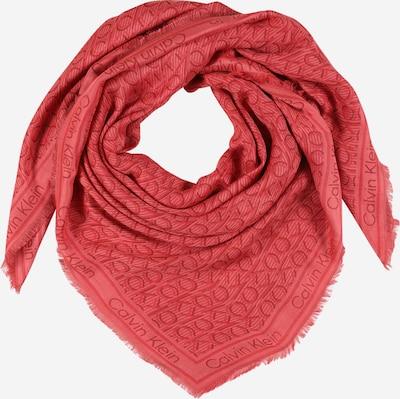 Calvin Klein Schal in koralle / karminrot / pastellrot, Produktansicht