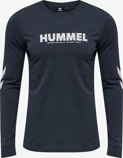 Hummel T-Shirt fonctionnel en marine / blanc, Vue avec produit