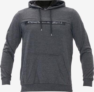 Tom Barron Kapuzensweatshirt MAN SWEATSHIRT in grau, Produktansicht