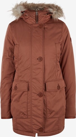 Q/S by s.Oliver Winter Parka in Brown