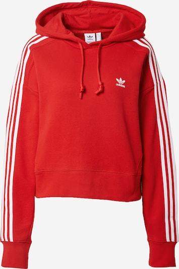 ADIDAS ORIGINALS Sweatshirt in rot / weiß, Produktansicht
