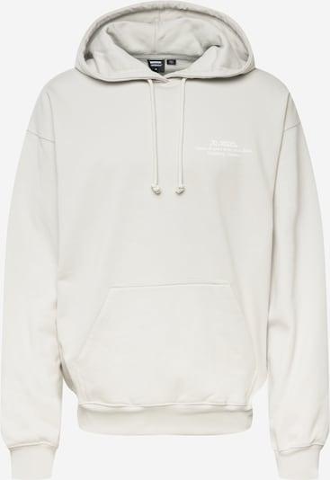 Dr. Denim Sweatshirt 'Damien' in grau / weiß, Produktansicht
