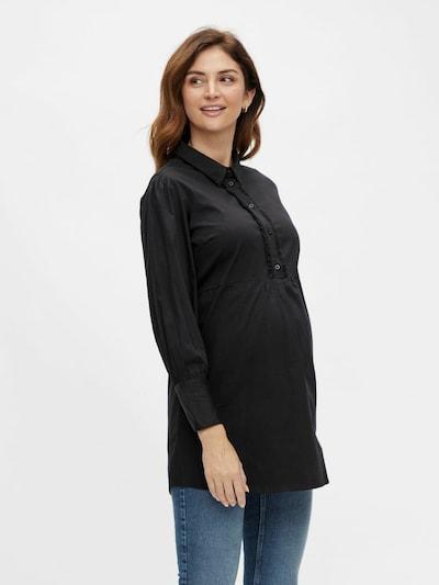 MAMALICIOUS Bluse 'SASIA' in schwarz, Modelansicht