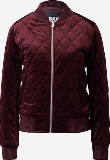 Urban Classics Between-season jacket in wine red, Item view