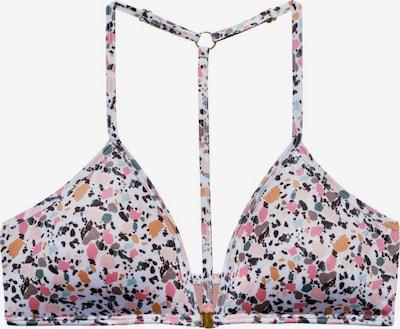 Underprotection Bikinitop ' Vanessa ' in mischfarben / weiß, Produktansicht