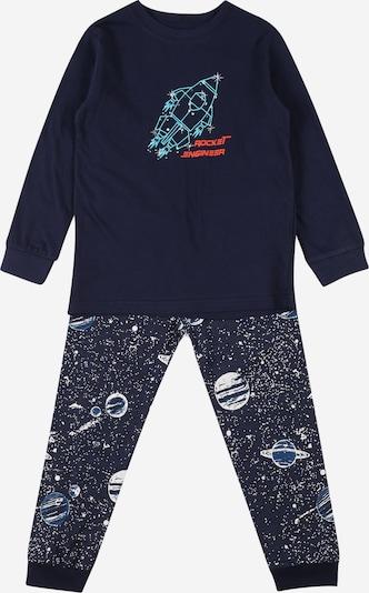 BLUE SEVEN Pyžamo - vodová / tmavomodrá / svetločervená / biela, Produkt