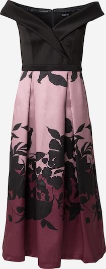 SWING Kleid in rosé / weinrot / schwarz, Produktansicht