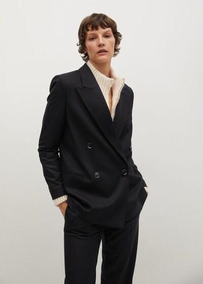 MANGO Blazer 'Canasi' in schwarz, Modelansicht