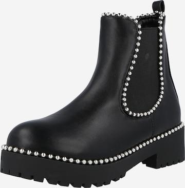 Chelsea Boots 'BALL TRIM' Missguided en noir