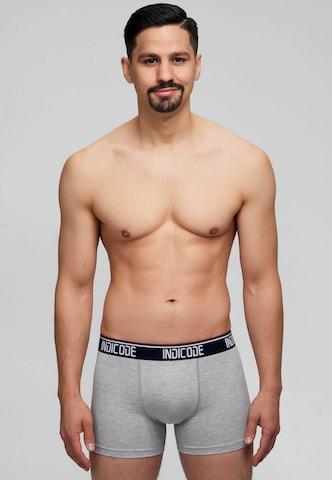 Boxers INDICODE JEANS en gris