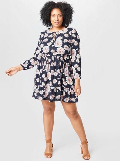 ABOUT YOU Curvy Kleid 'Ragna' in navy / rosa, Modelansicht