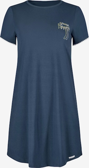 Skiny Chemise de nuit en bleu marine / mélange de couleurs, Vue avec produit
